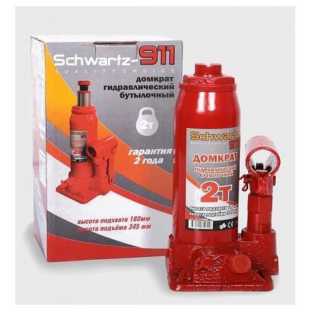 Домкрат гидравлический бутылочный Azard SCHWARTZ-911