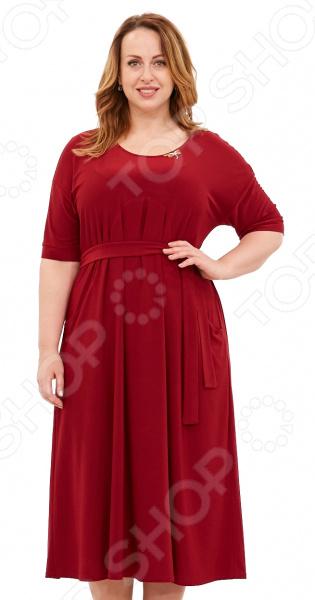 Платье Лауме-Лайн «Афродита». Цвет: бордовый платье zean цвет бордовый