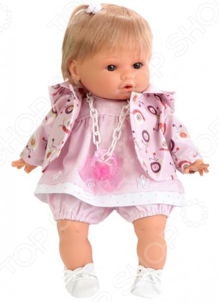 Кукла интерактивная Munecas Antonio Juan «Ника» 1332P кукла bloopies кукла для купания коби 95595