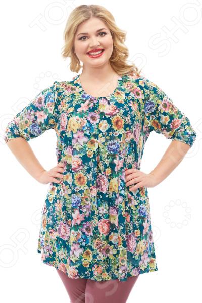Туника Pretty Woman «Джози». Цвет: зеленый туника paola klingel цвет зеленый