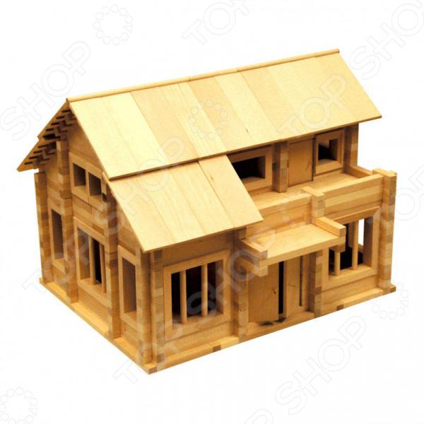 Конструктор деревянный Теремок « 6»