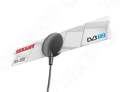 Антенна телевизионная комнатная Rexant RX-255 ideal lux спот ideal lux page ap1 round bianco