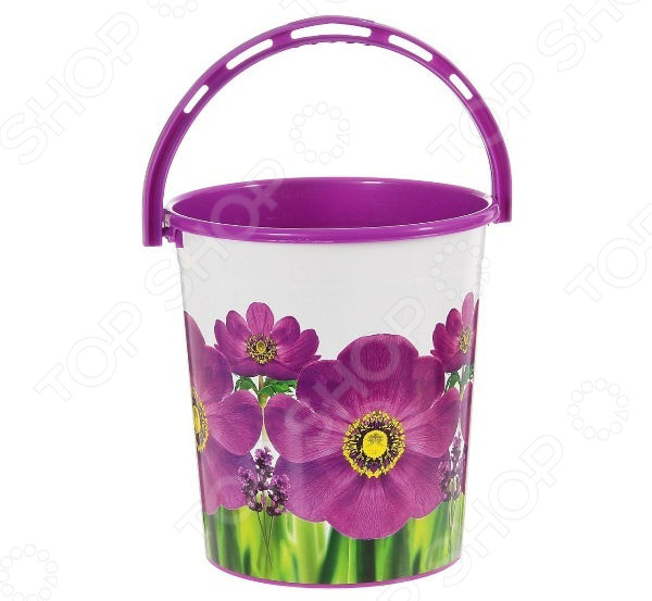 Ведро для мусора Violet «Фиалка» ведро