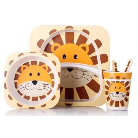 Купить Набор посуды для детей «Лев»