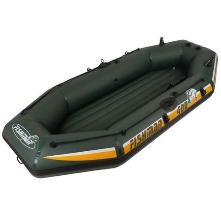 Купить Лодка надувная Jilong Fishman II 400 Set