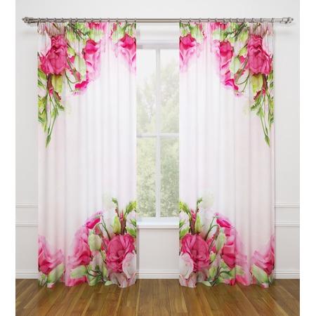 Купить Фотошторы Стильный дом «Куст прекрасных роз»