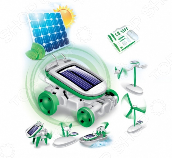 Конструктор на солнечных батареях Bradex « Моушен»