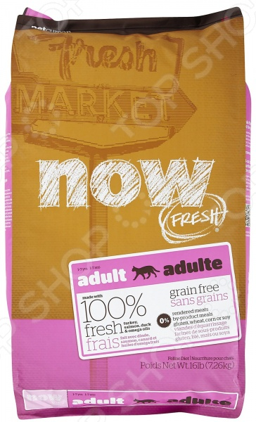 Корм сухой для кошек беззерновой NOW Fresh Grain Free Adult Cat Recipe