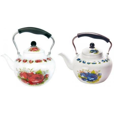 Купить Чайник эмалированный Bekker BK-E318. В ассортименте