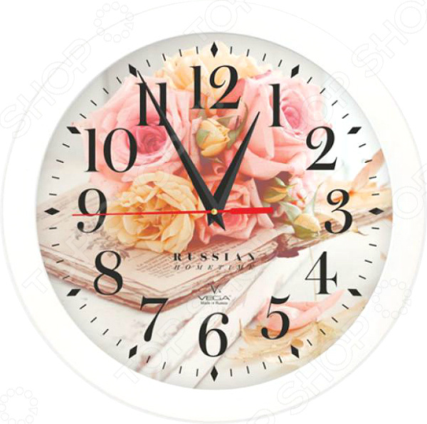 Часы настенные Вега П 1-7/7-251 «Вдохновение»