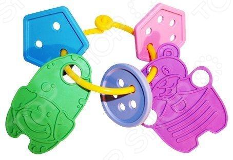 Игрушка-прорезыватель Пластмастер Веселые фигурки незаменимая вещь, когда у малыша начинают резаться зубки. Изделие также можно использовать в качестве погремушки или подвесить над кроваткой. Изготовлено из мягкого пластика с учетом возрастных особенностей, поэтому безопасно для ребенка. Яркое оформление порадует и привлечет внимание малыша.