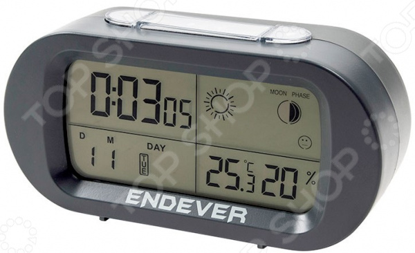 Часы-будильник Endever RealTime 31