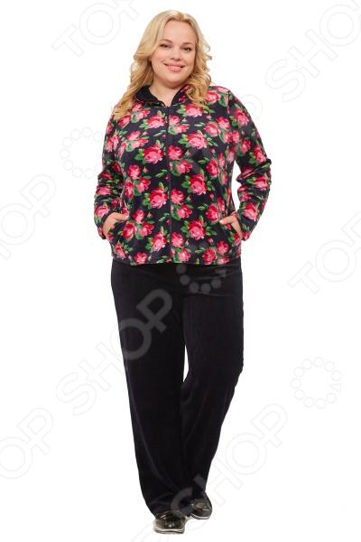 Костюм Laura Amatti «Бархатная роза» юбка laura amatti изабелина цвет бордовый