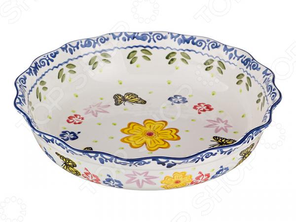 Блюдо круглое Agness 536-027 блюдо agness 546 055