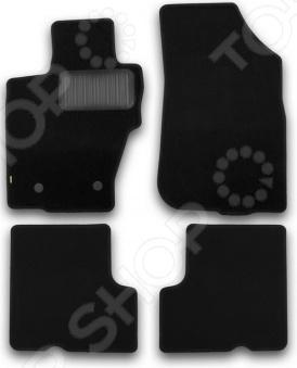 Комплект ковриков в салон автомобиля Klever Nissan Terrano 2014 Standard б/р