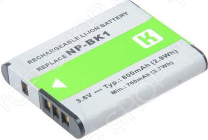 Фото - Аккумулятор для камеры Pitatel SEB-PV1017 внешний аккумулятор для
