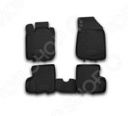 Комплект ковриков в салон автомобиля Novline-Autofamily Renault Duster 4WD 2011-2015 комплект чехлов на весь салон senator dakkar s3010391 renault duster от 2011 black