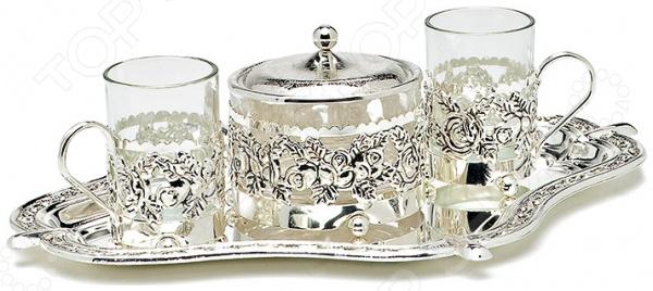 Чайный набор MARQUIS 4004-MR «Роза» ваза marquis 7022 mr
