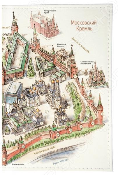 Обложка для автодокументов Mitya Veselkov «Московский Кремль» а н свирин московский кремль