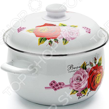 Кастрюля с крышкой Mayer&Boch Beautyful Romantic Rose projector night light romantic rose buds