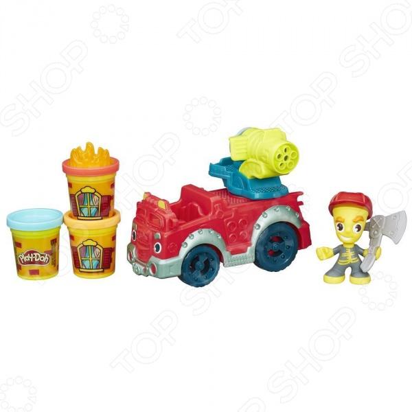 Набор игровой для лепки Hasbro «Пожарная машина»