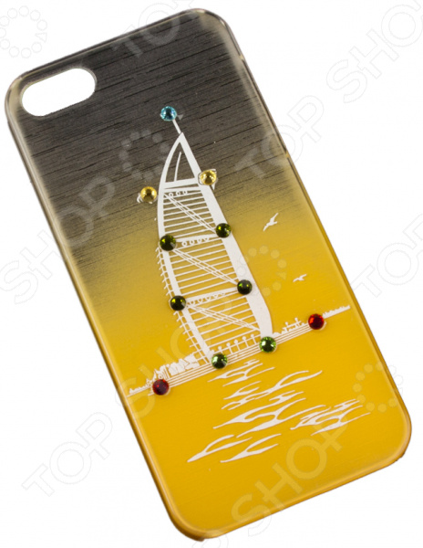 Чехол для iPhone 5/5S/SE «Небоскреб»