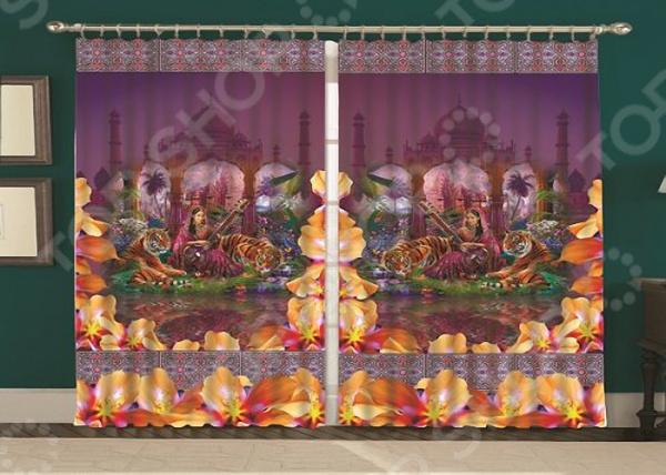 Фотошторы «Тадж Махал» текстиль для дома