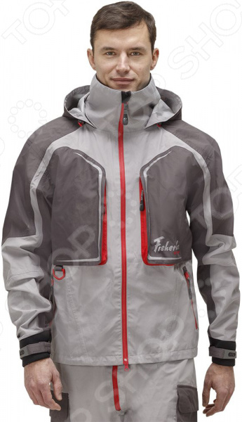 Куртка для рыбалки FISHERMAN Nova Tour «Риф Prime»