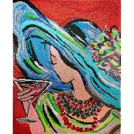 Купить Набор для творчества Color Kit «Алмазная мозаика». Рисунок: «Таинственная незнакомка»