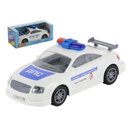 Купить Машинка инерционная игрушечная POLESIE «ДПС. Нижний Новгород»