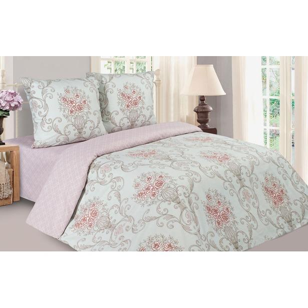 фото Комплект постельного белья Ecotex «Поэтика. Донна Роза». 2-спальный. Размер простыни: 215х220 см. Простыня на резинке: нет