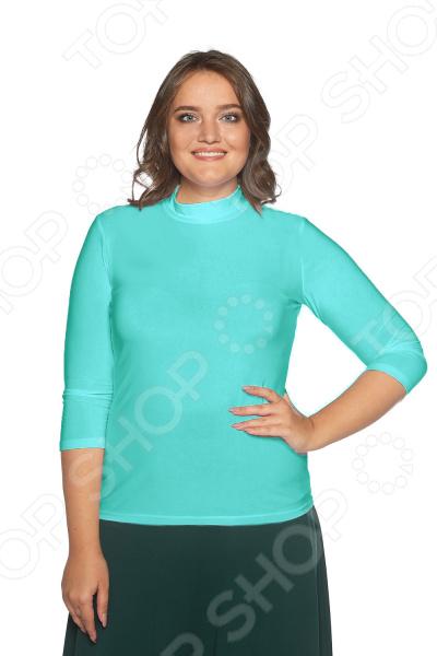 Водолазка Blagof «Цвет настроения». Цвет: бирюзовый блуза blagof blagof mp002xw0ygn0