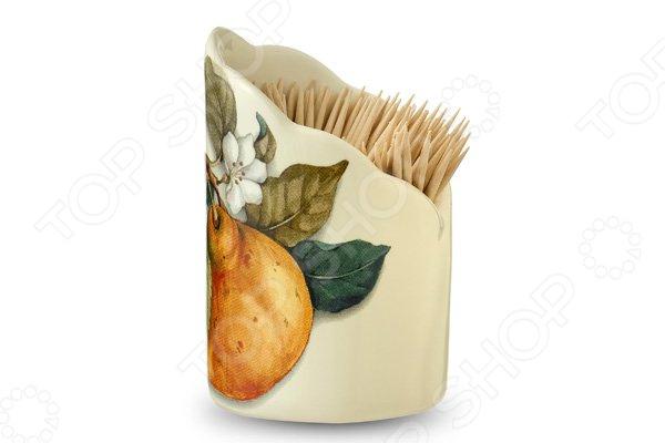 Подставка для зубочисток Nuova Cer «Итальянские фрукты» подставки для зубочисток nuova cer s n c подставка для спичек 14см прованс