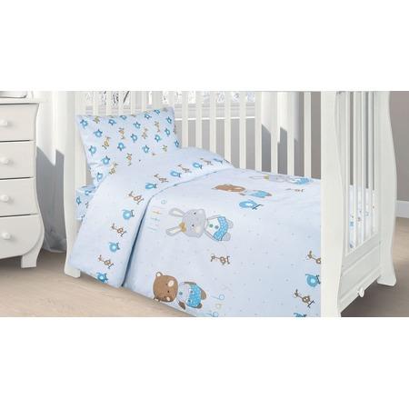 Купить Ясельный комплект постельного белья Ecotex Kids 36