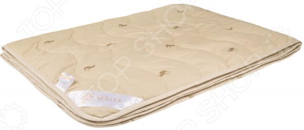 Одеяло облегченное Ecotex «Караван» шапка серая deux par deux ут 00017735