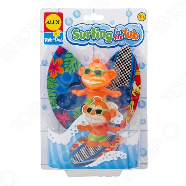Игрушка для ванны Alex «Серфинг» alex игрушка для ванны серфинг alex