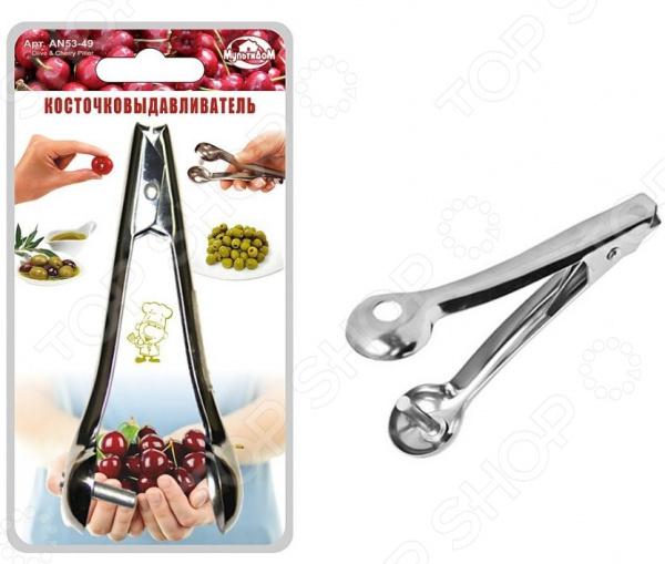 Удалитель косточек Мультидом AN53-49 удалитель хвостиков из овощей и фруктов tk 0128