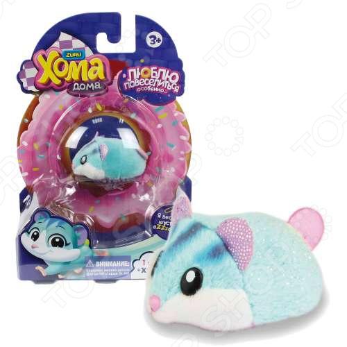 Мягкая игрушка 1 Toy «Хомячок голубой»