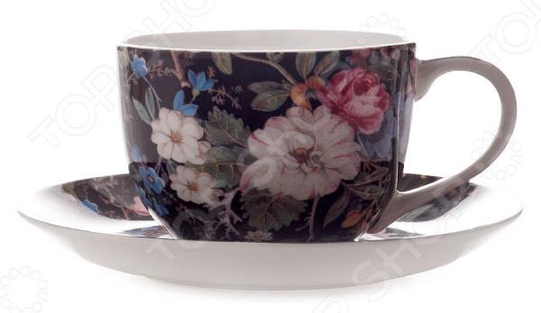 Чайная пара Maxwell&Williams «Полночные цветы» 1250