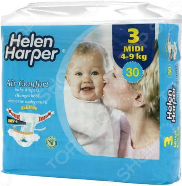 Подгузники Helen Harper Harper Air comfort midi (4-9 кг)