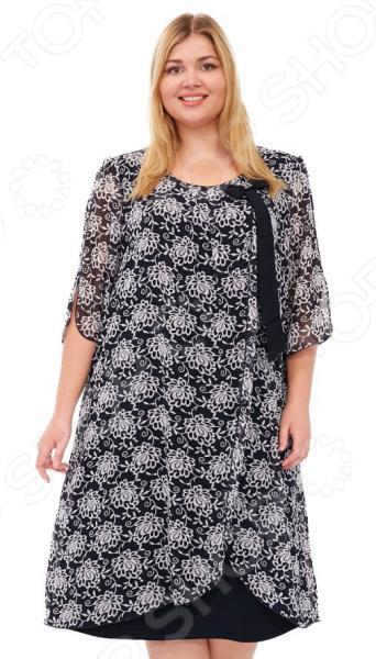 Платье Laura Amatti «Первое свидание». Цвет: черный цена 2017