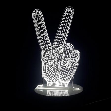 Купить Светильник 3D «Рука»