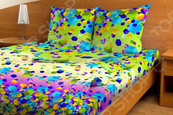 Комплект постельного белья Мар-Текс «Кубик рубик» кубик рубик в челябинске