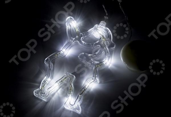 Фигура светодиодная Neon-Night на присоске с подвесом «Санта Клаус»