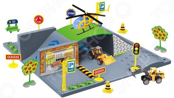 Набор игровой 1 Toy «Парковка. Стройка» 1 toy детский игровой набор доктор арт т56708