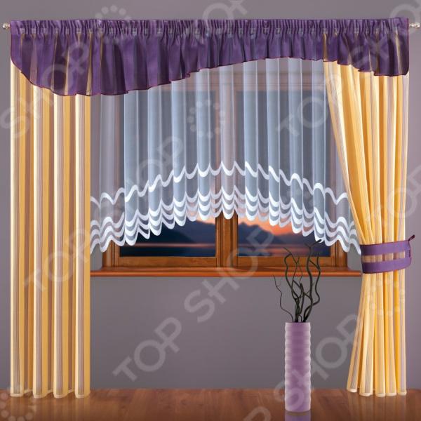 Комплект штор Wisan 093W комплект штор с покрывалом для спальни в москве
