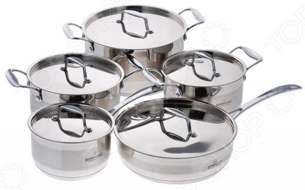 Набор кухонной посуды Bohmann BH-1057WCR