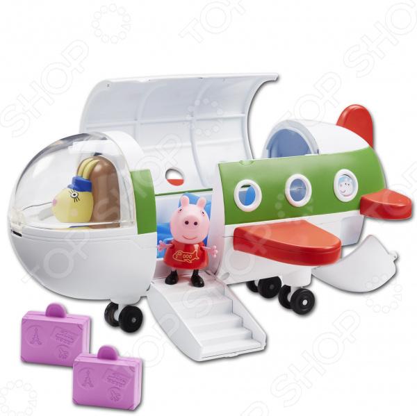Игровой набор с фигуркой Peppa Pig «Самолет» 31606