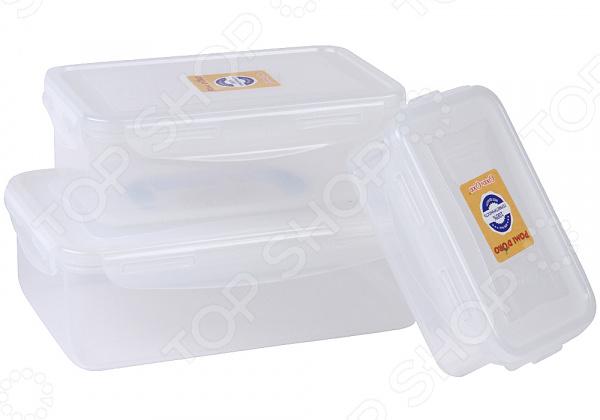 Набор контейнеров для хранения посуды Rosenberg RUS-575024 набор контейнеров pomidoro rus 575024