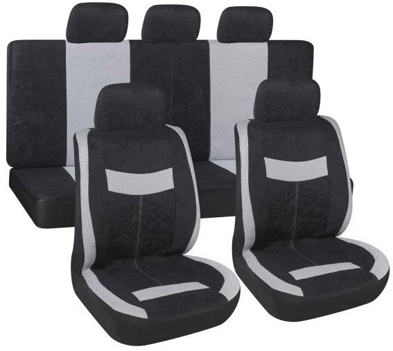 Комплект чехлов на сиденья автомобиля SKYWAY Velvet-2